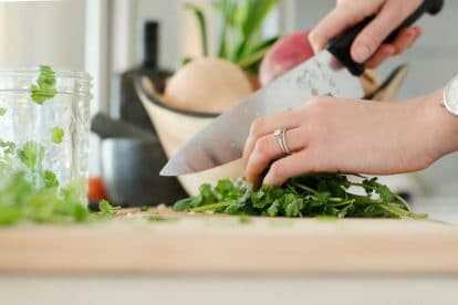 How Are Recipes Created: prepping food