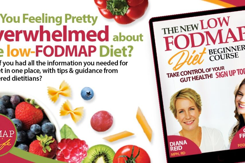 The Low FODMAP Beginners Course Feature Image