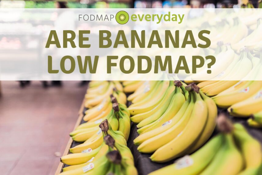 Are Bananas Low FODMAP Feature Image